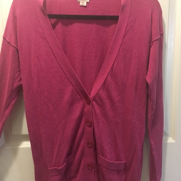 Mossimo Supply Co. Sweaters - Pink button down cardigan